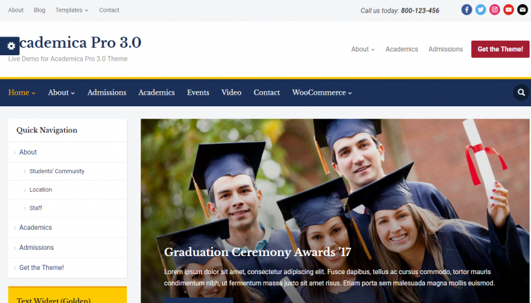 Academica Pro 3.0: The Best LearnDash Themes for WordPress 2020