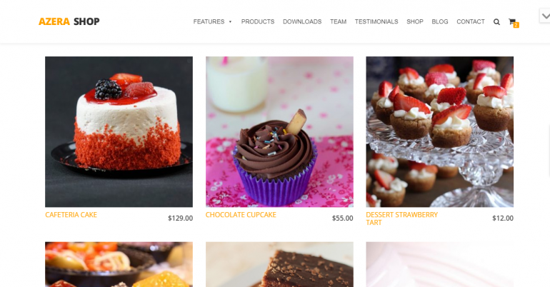 Azera Shop: The 50 Best WordPress eCommerce Themes of 2019 (Free and Paid)