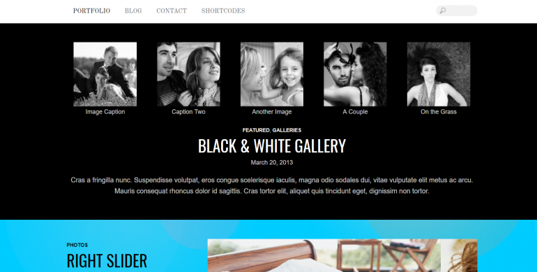 Bold: The Best WordPress Themes for Videographers 2019