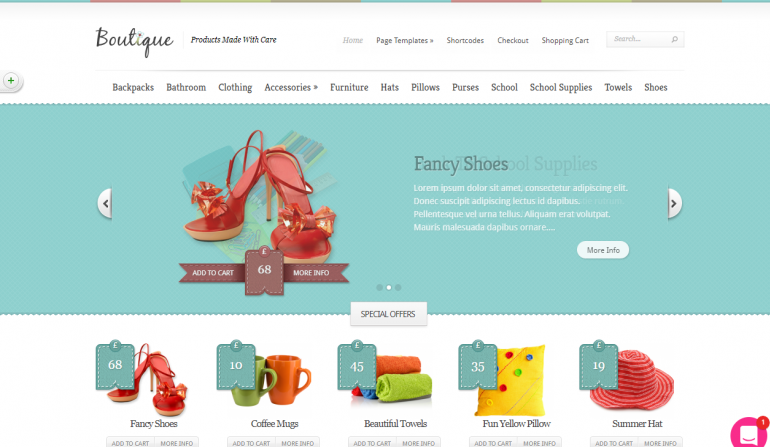 Boutique: The 50 Best WordPress eCommerce Themes of 2019 (Free and Paid)