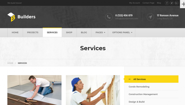 Builders: The 10 Best HVAC/Plumbing WordPress Themes for 2019