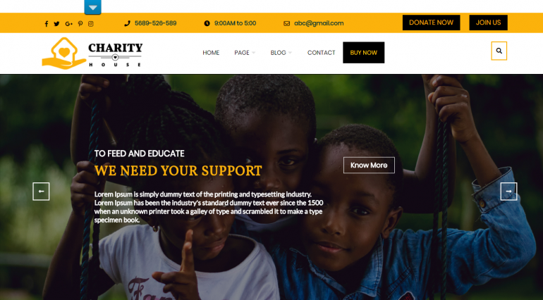Charity: The Best Free (or Really Cheap) WordPress Church Themes of 2019