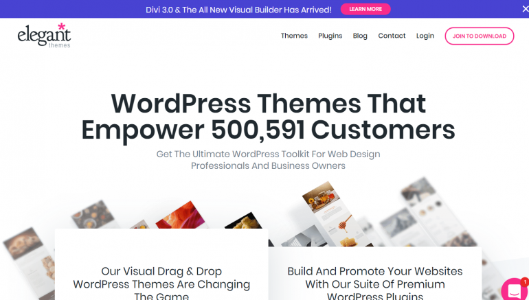 Elegant Themes: The Best Places to Buy WordPress Themes 2020