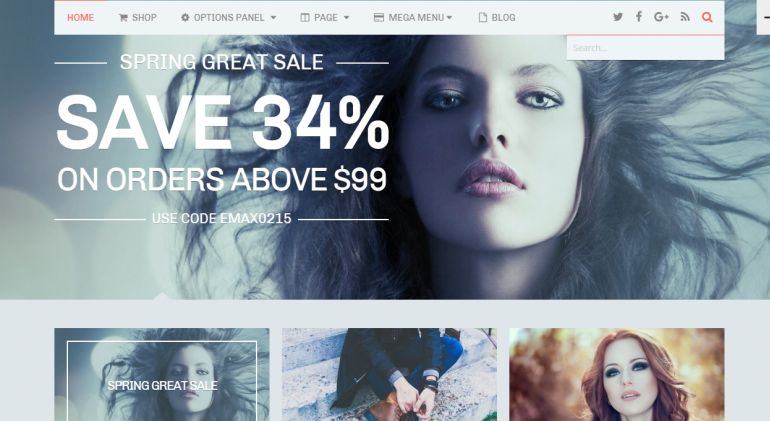 eMaxStore: The 50 Best WordPress eCommerce Themes of 2019 (Free and Paid)