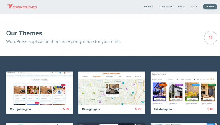 EngineThemes: The Best Places to Buy WordPress Themes 2020