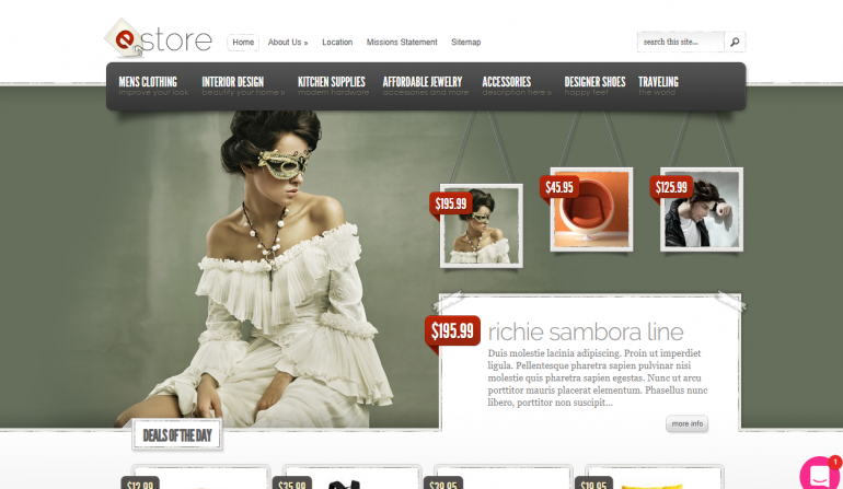 eStore: The 50 Best WordPress eCommerce Themes of 2019 (Free and Paid)