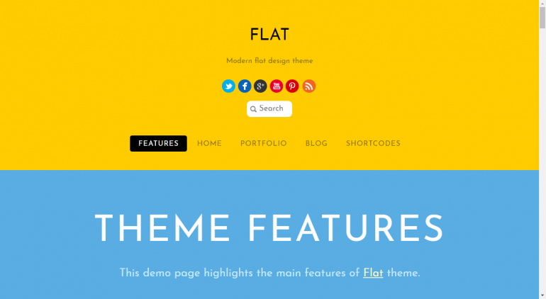Flat: The 15 Best Minimalist WordPress Themes for 2019