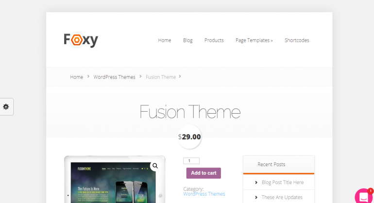 Foxy: The 50 Best WordPress eCommerce Themes of 2019 (Free and Paid)
