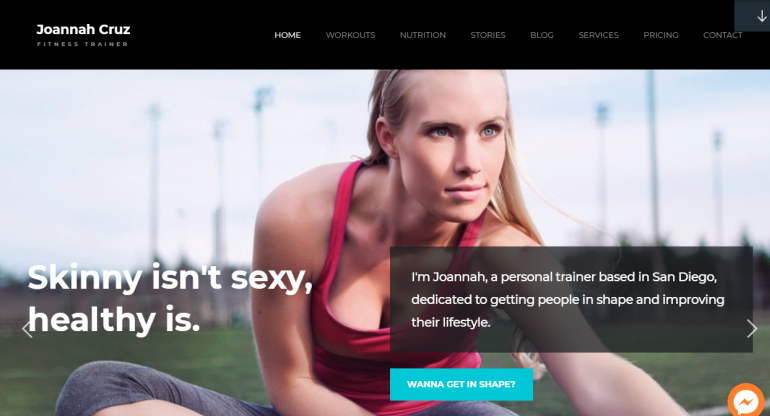In Shape: Best WordPress Themes For Speakers, Life Coaches and Motivational Speakers 2020