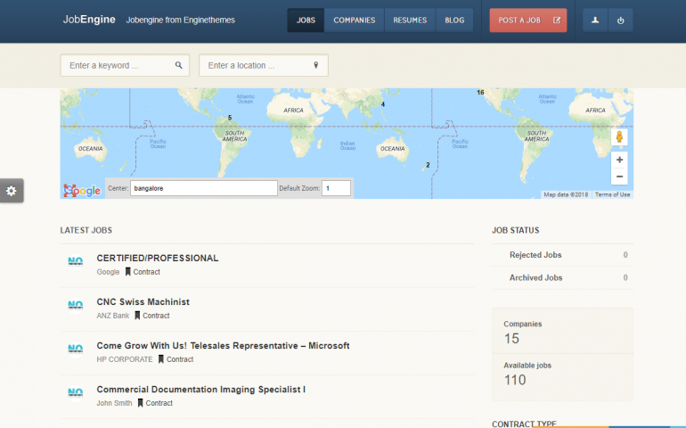 JobEngine: The Best WordPress Job Board Plugins/Themes for 2020