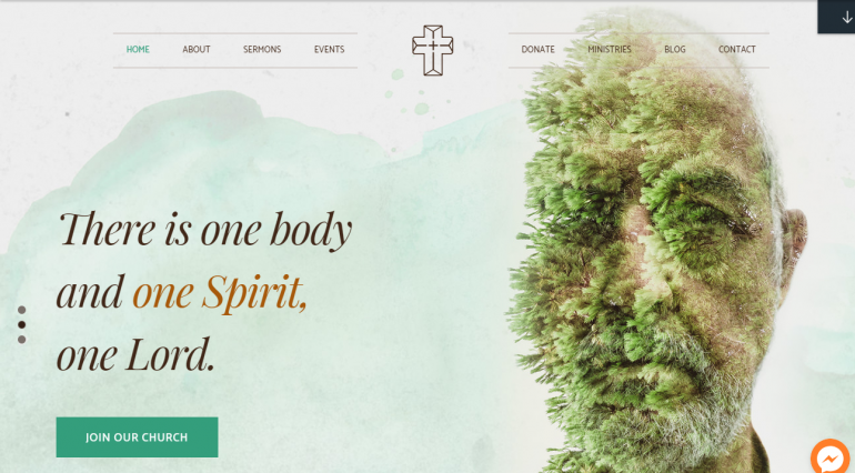 Creed: The Best Free (or Really Cheap) WordPress Church Themes of 2019