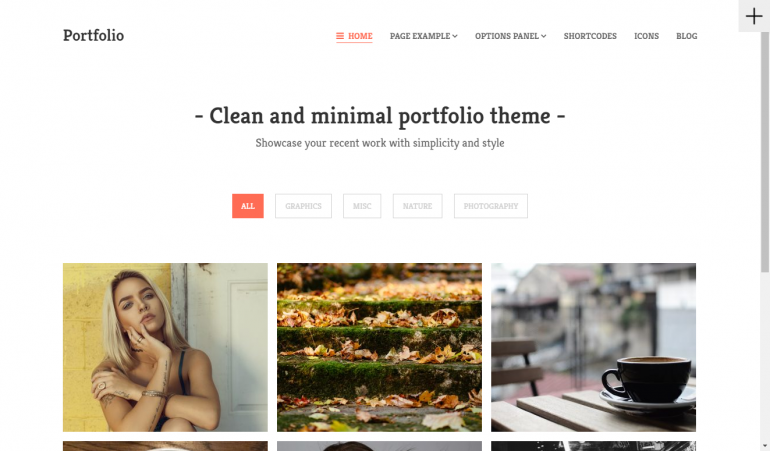 Portfolio: The 15 Best Minimalist WordPress Themes for 2019