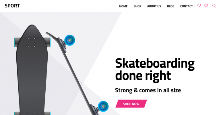 Shoppe: The 50 Best WordPress eCommerce Themes of 2019 (Free and Paid)
