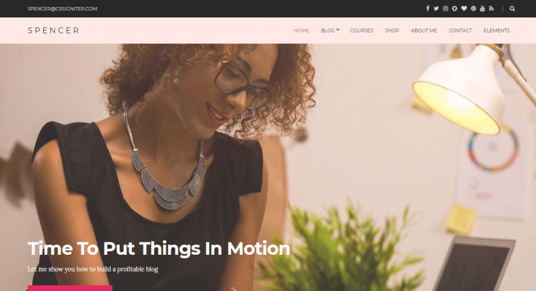 Spencer: The 50 Best WordPress eCommerce Themes of 2019 (Free and Paid)