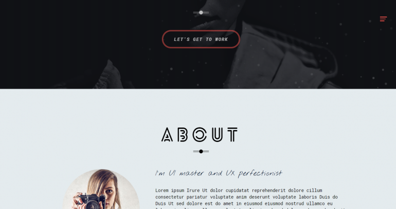 Unica: 10 Best WordPress Themes for Resume Writers 2019