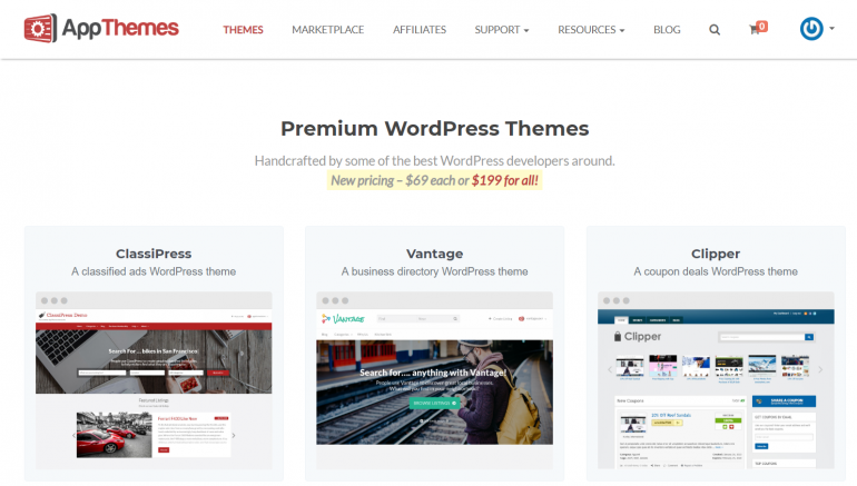 AppThemes: The Best Places to Buy WordPress Themes 2018