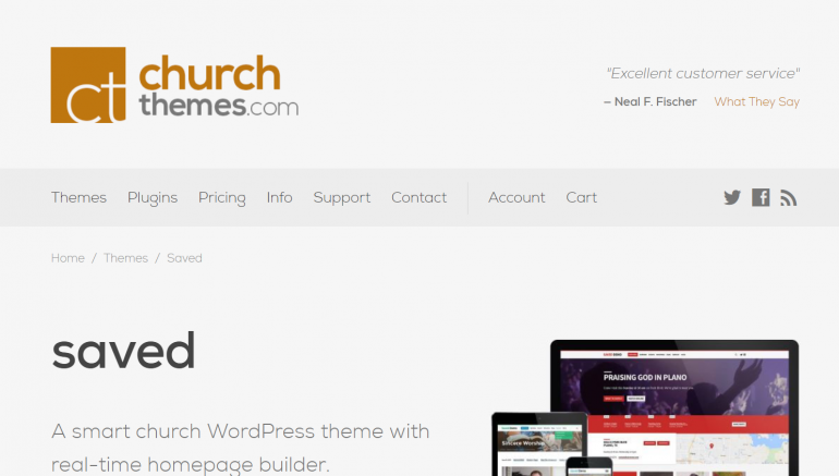 Church Themes: The Best Places to Buy WordPress Themes 2018