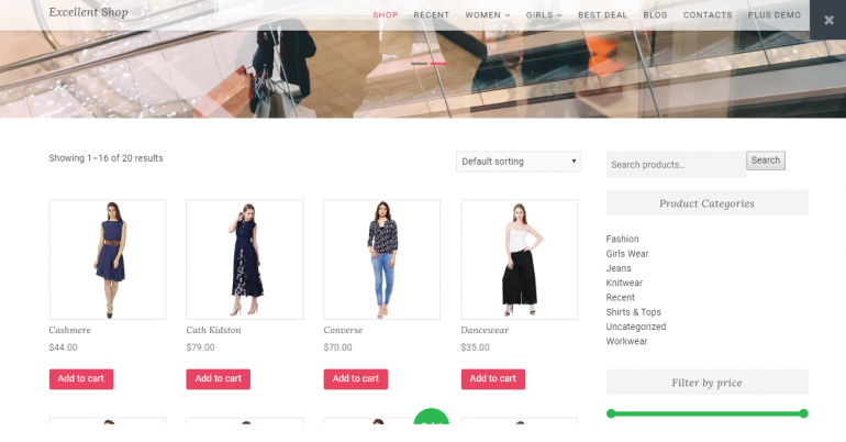 Excellent Shop: The 50 Best WordPress eCommerce Themes of 2018 (Free and Paid)