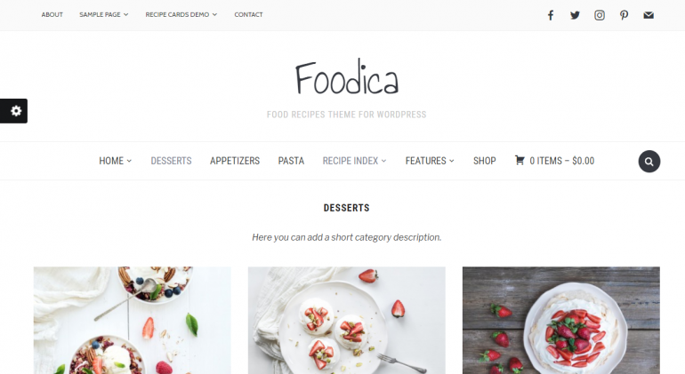 Foodica: The 50 Best WordPress eCommerce Themes of 2018 (Free and Paid)