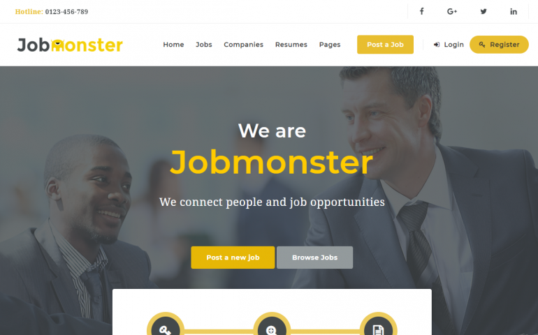JobMonster: The Best WordPress Job Board Plugins/Themes for 2018