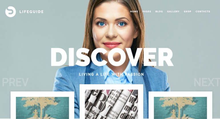 LifeGuide: Best WordPress Themes For Speakers, Life Coaches and Motivational Speakers 2019