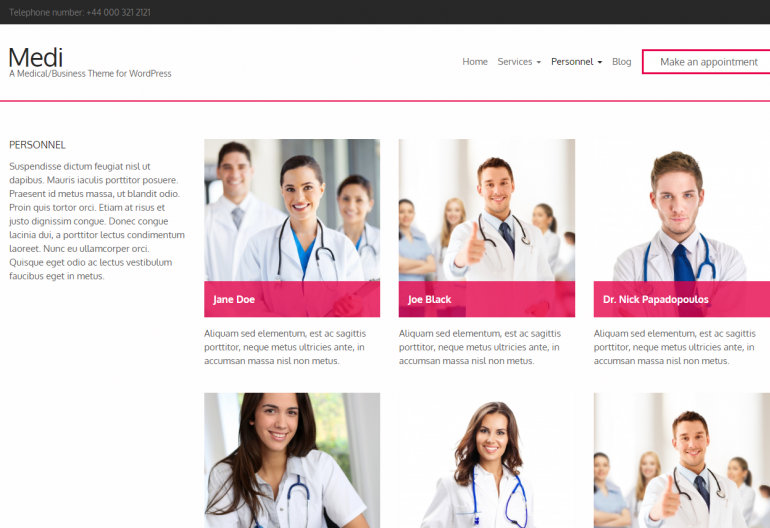 Medi: 10 Best Chiropractic WordPress Themes for 2019