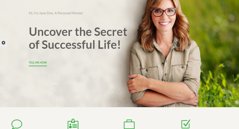 Mentor: Best WordPress Themes For Speakers, Life Coaches and Motivational Speakers 2019