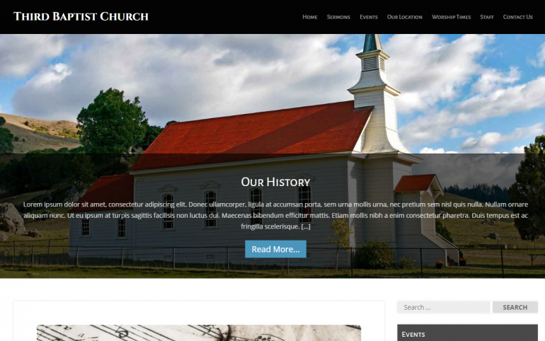 MyChurch: The Best Free (or Really Cheap) WordPress Church Themes of 2019