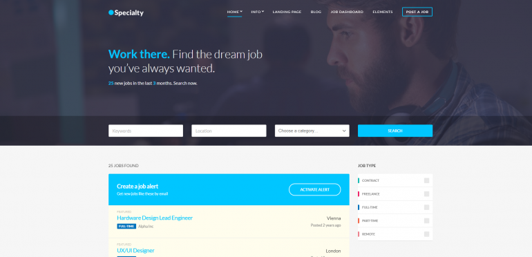 Specialty: The Best WordPress Job Board Plugins/Themes for 2018