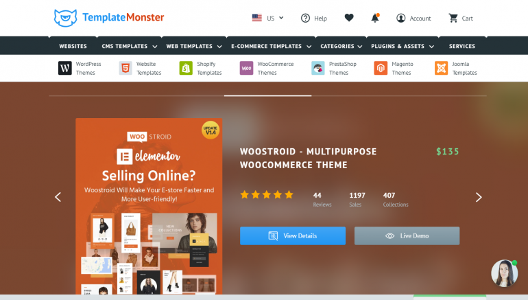 TemplateMonster: The Best Places to Buy WordPress Themes 2018