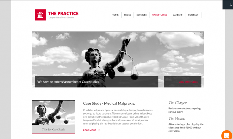 The Practice: 10 Best WordPress Themes for Resume Writers 2019