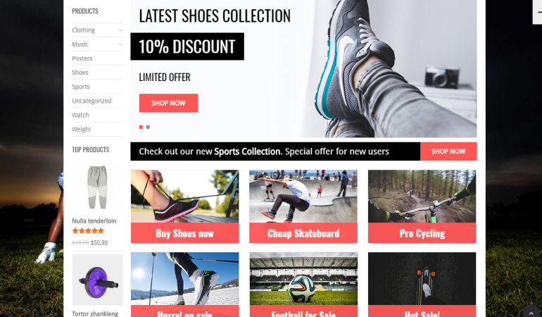 WooShop: The 50 Best WordPress eCommerce Themes of 2018 (Free and Paid)